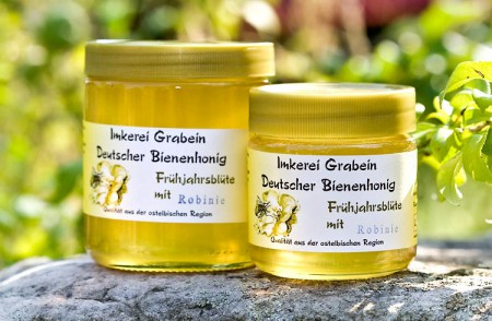 "Bienenhonig ""Frühjahrsblüte - Robinie"""