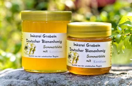 """Bienenhonig """"Sommerblüte - Kornblume"""""""