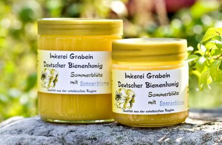 """Bienenhonig """"Sommerblüte - Sonnenblume"""""""