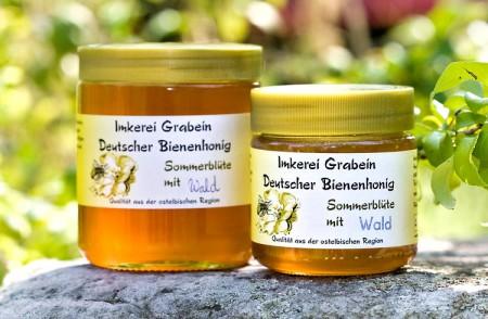 """Bienenhonig """"Sommerblüte - Wald"""""""